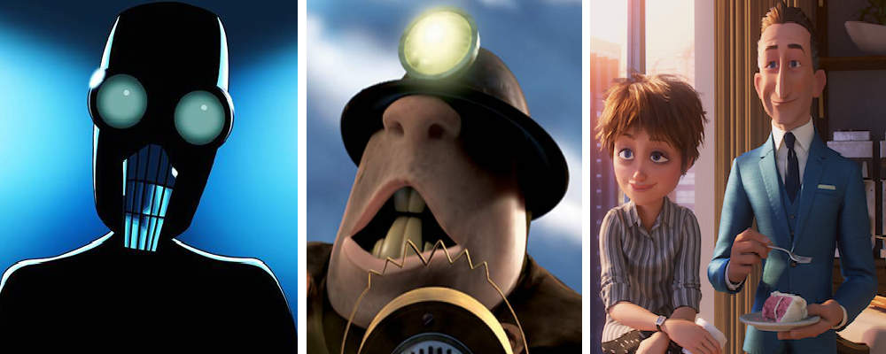 Personages in Incredibles 2: Screenslaver, Underminder en Evelyn en Winston Deavor