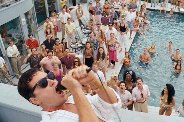 The Wolf of Wall Street drugs