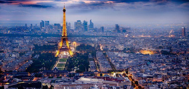 Parijs uit de lucht