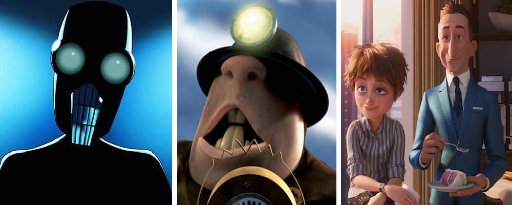 Personages in Incredibles 2: Screenslaver, Underminder en Evelyn en Winston Deavor